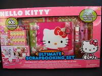 Hello Kitty Ultimate Scrapbooking Set Pink 400 Pc Scrapbook Kit Borders Kids