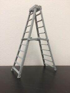 WWE-Mattel-Action-Figure-Accessory-Grey-Super-Tall-Ladder-Elite-loose