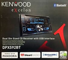 NEW KENWOOD DPX592BT Double-DIN AAC/WMA/WAV/MP3 In-Dash Car Stereo
