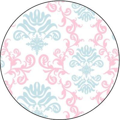 Gender Reveal / Baby Shower Hershey Kisses Labels - Pink / Blue - Party Favors