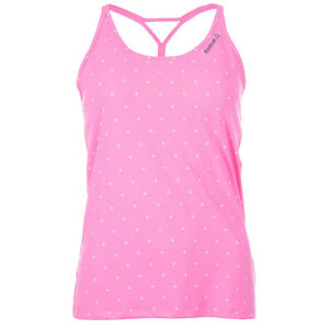 New-Reebok-Yoga-Plus-Long-Bra-Vest-Top-Pink-Ladies-Womens-Gym-Training-Fitness