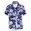 Mens-Hawaiian-T-Shirt-Summer-Floral-Printed-Beach-Short-Sleeve-Tops-Blouse-Hot thumbnail 7