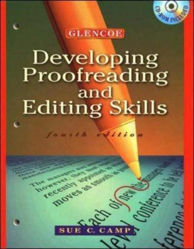 Developing Proofreading and Editing Skills-ExLibrary