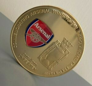 Arsenal Undefeated Premier League Champions 2003/2004 Commemorative Medal/Coin