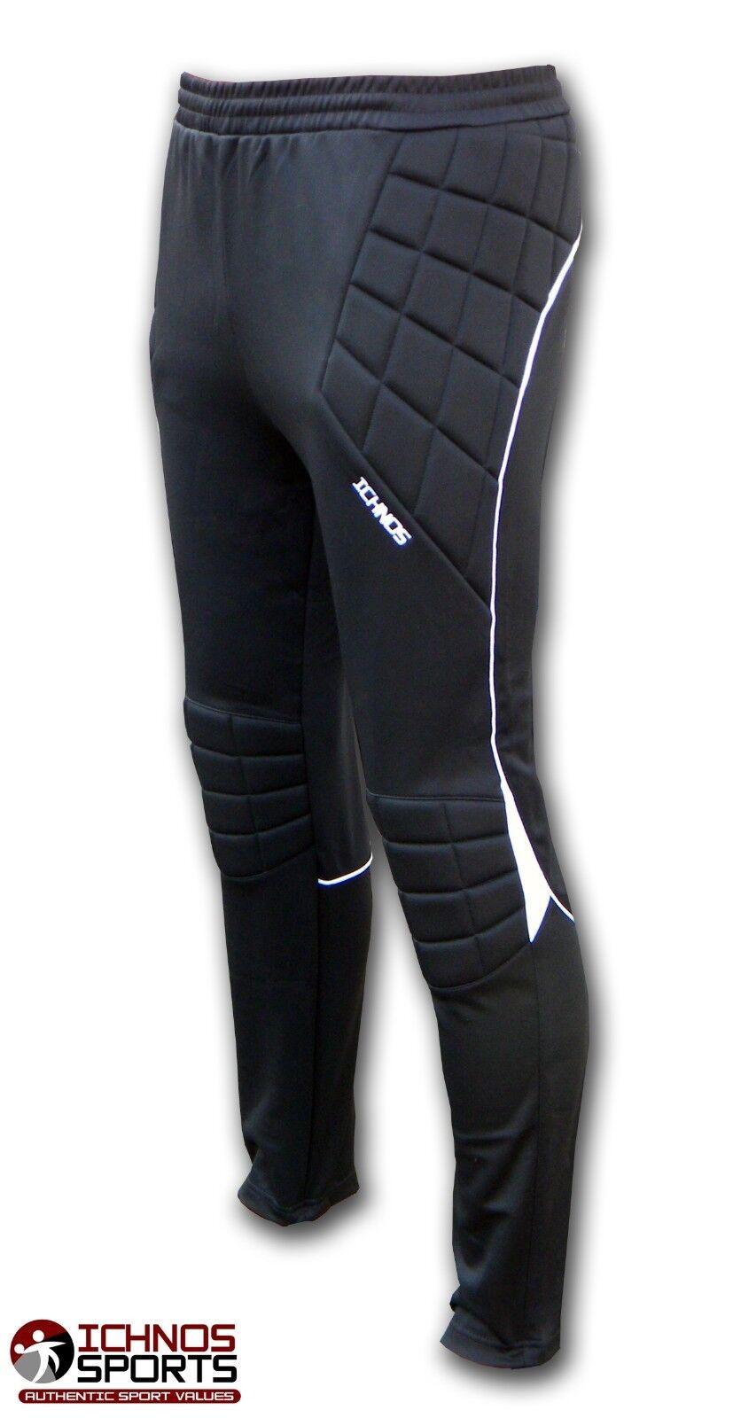 Ichnos Torwart gepolsterte lange Hosen Hosen Fussball Fussball Fussball Futsal Größe M