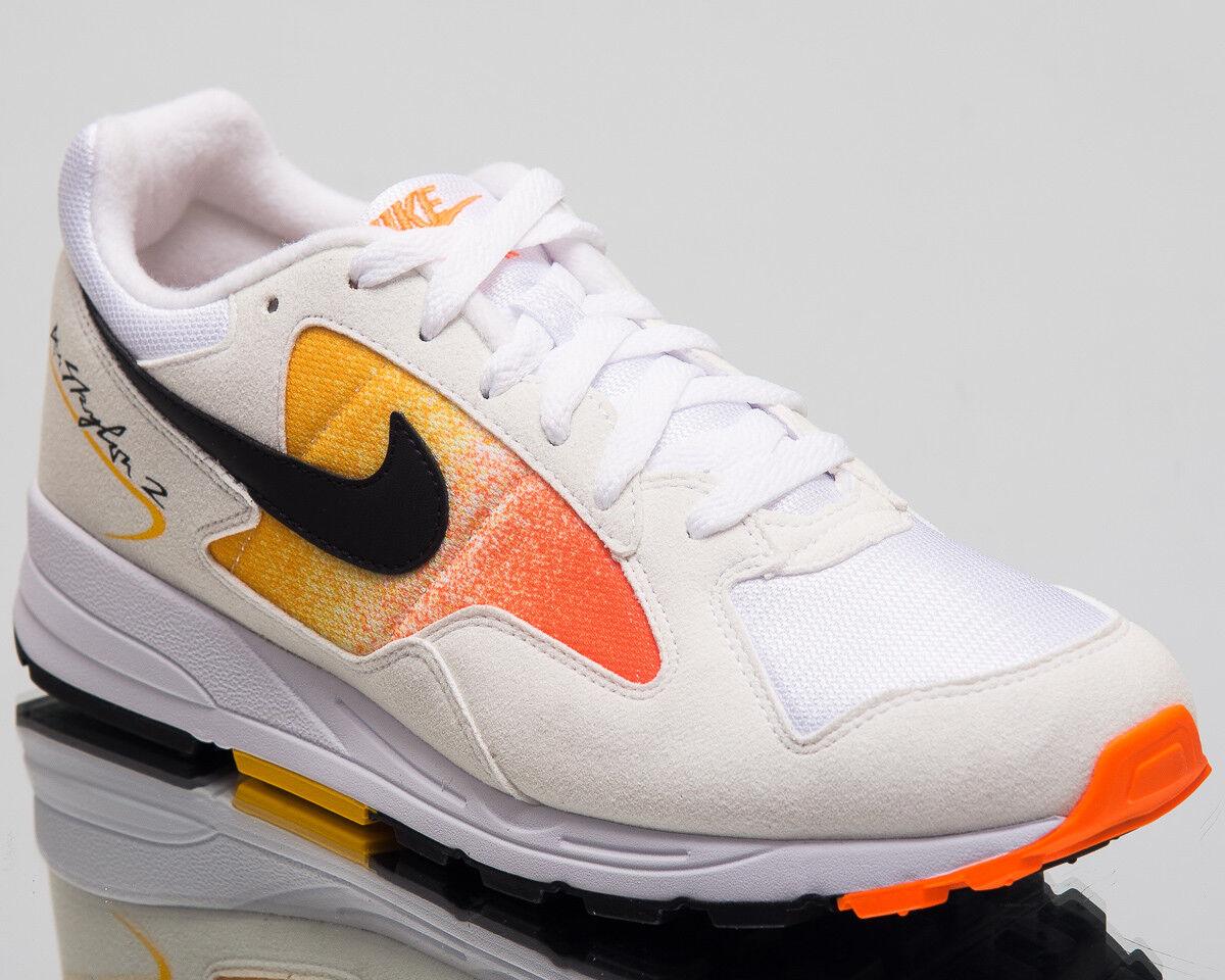 Nike Luft Skylon II Turnschuhe Weiß Schwarz Gelb Lifestyle Schuhe AO1551-102