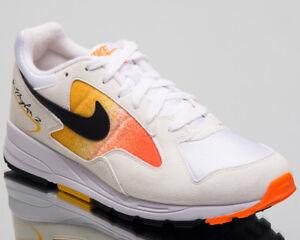 Nike-Air-Skylon-II-Hommes-Noir-Blanc-Amarillo-orange-Lifestyle-Baskets-Chaussures