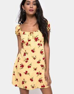 MOTEL-ROCKS-Gaval-Mini-Dress-in-Falling-Rose-Yellow-MR83-1