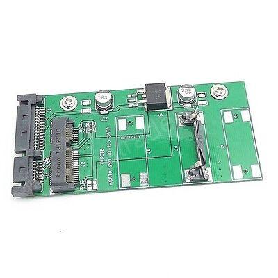 New 1x PCI-E/mSATA SSD to 2.5 inch SATA Card Converter Adapter
