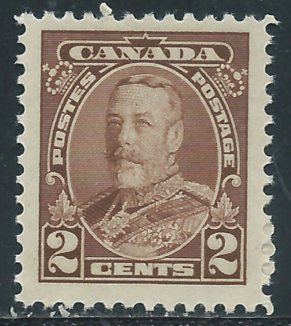 Canada #218(1) 1930 2 cent brown KING GEORGE V MNH