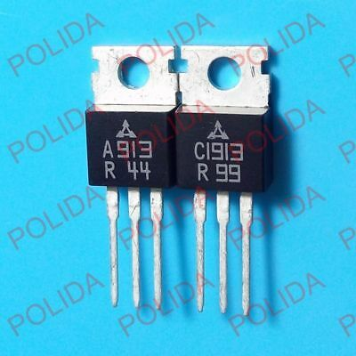 2pcs 2SC1913 C1913 Silicon NPN Power Transistors  TO-220