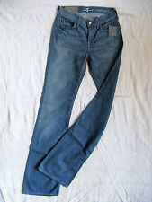 7 SEVEN for all MANkiND Damen Blue Jeans Stretch W25/L34 medium waist regular