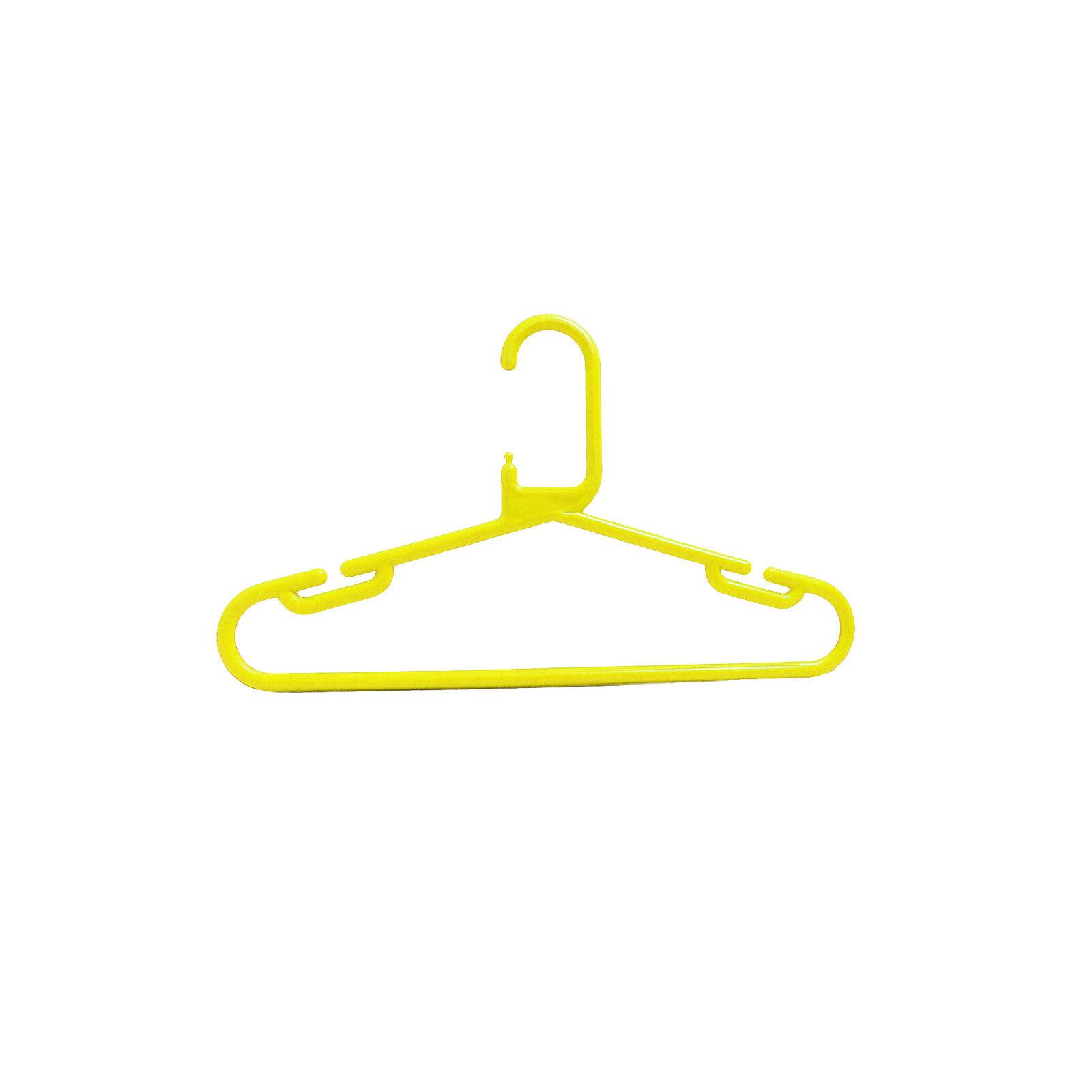 KIDS HEAVY DUTY PLASTIC COAT HANGERS TROUSER ETC GARMENT CLOTHES HANGER SUIT