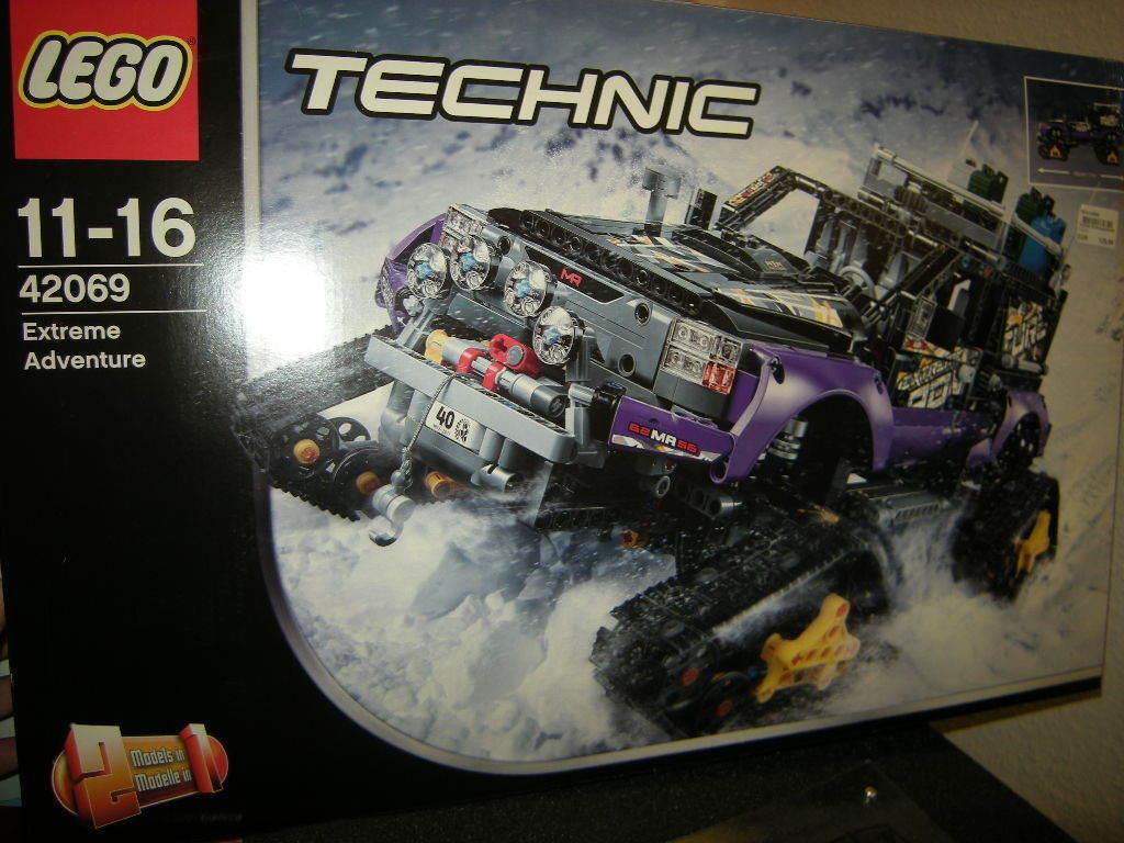 Lego Technic Extremgeländefahrzeug 11-16 Jahre Nr. 42069 OVP