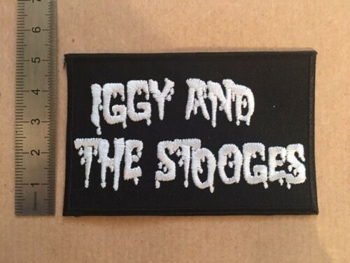 M279 PATCH ECUSSON IGGY AND THE STOOGES 8*6 CM