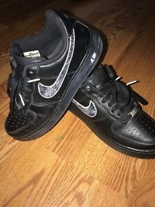 quality design cb9ca a41b4 Image is loading Custom-Off-White-Nike-Air-Force-1s