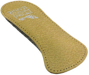 Ladies-3-4-leather-upper-Arch-and-Metatarsal-Support-insoles