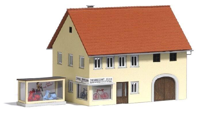Busch 8211, Spur N, Zweiradhandel, neu, neu, neu, OVP, Kaufhaus, Haus, Fahrradhandel 6689a2