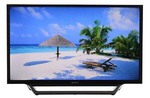 "2 USB Ports Sony 32/"" Smart LED TV w// Built-in WiFi MotionflowXR 240 /& 2 HDMI"