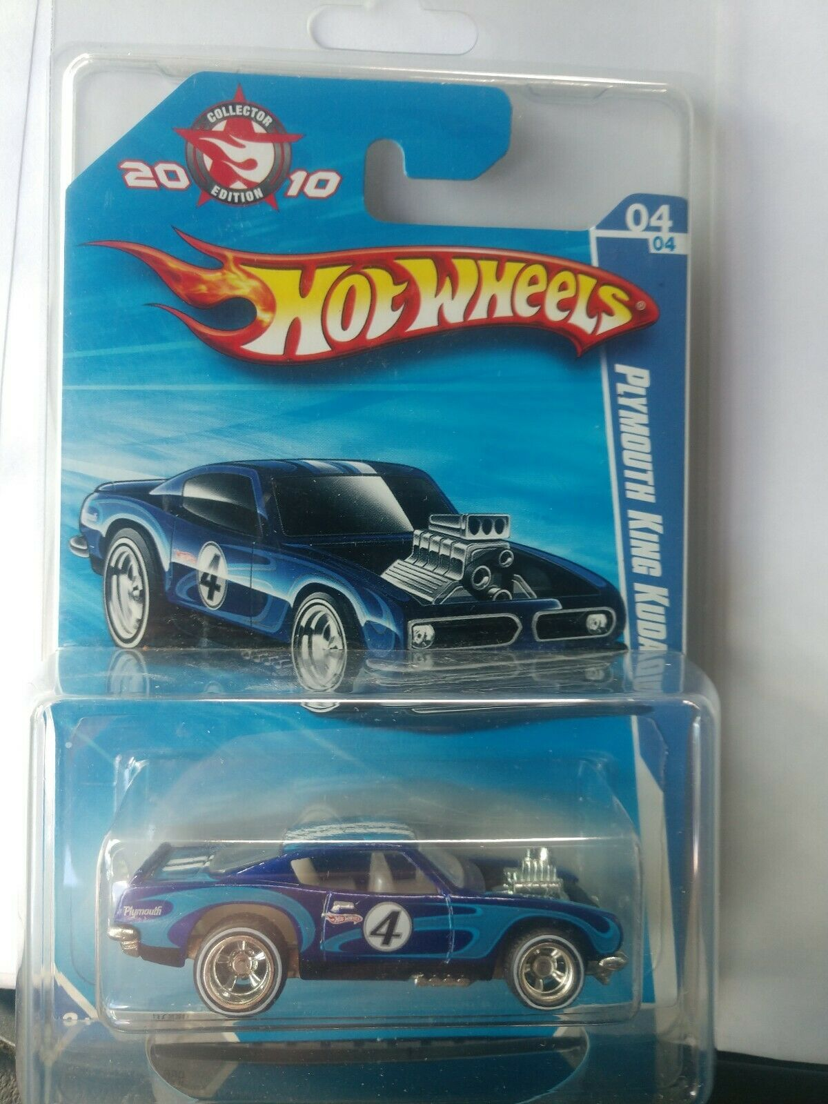 HOT WHEELS 2010 MAIL-IN PLYMOUTH KING  KUDA W  PredECTO