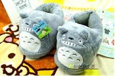 My Neighbor Totoro Soft Plush Stuffed Slipper One Pair Xmas gift Adult size