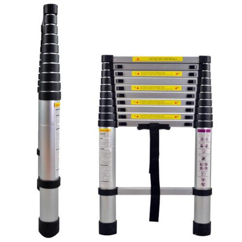Alu 3,2m Stehleiter Anlegeleiter Mehrzweckleiter Teleskopleiter Leiter TOP