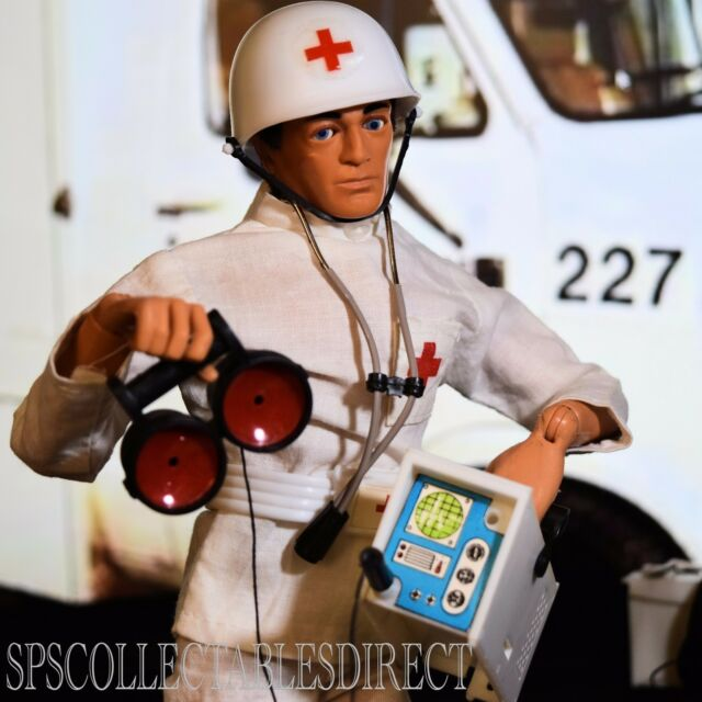 ☆ VAM Palitoy Action Man ☆ Ultra Rare Emergency Medic Complete 1978-84 NR Mint ☆
