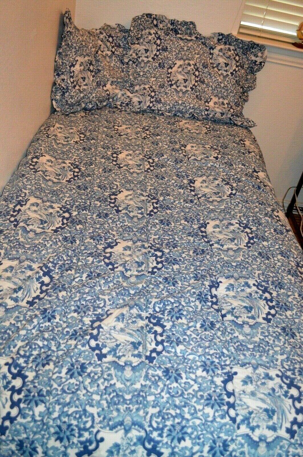 Ralph Lauren Bedding Porcelain Blue 63 Off Tajpalace Net