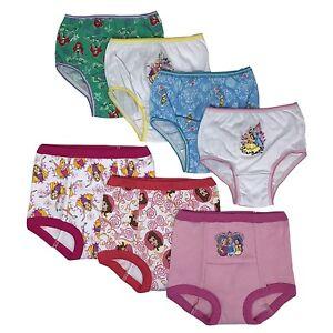 Disney Princess Toddler Girls/' 3pk Training Pants and 4pk Panties COMBO PACK