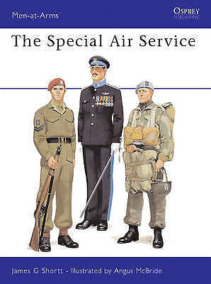 1 of 1 - The Special Air Service (Men at Arms Series, 116)-ExLibrary