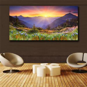 Details About Scenery Abstract Art On Canvas Painting Wall Art Picture Prints Modern Decor