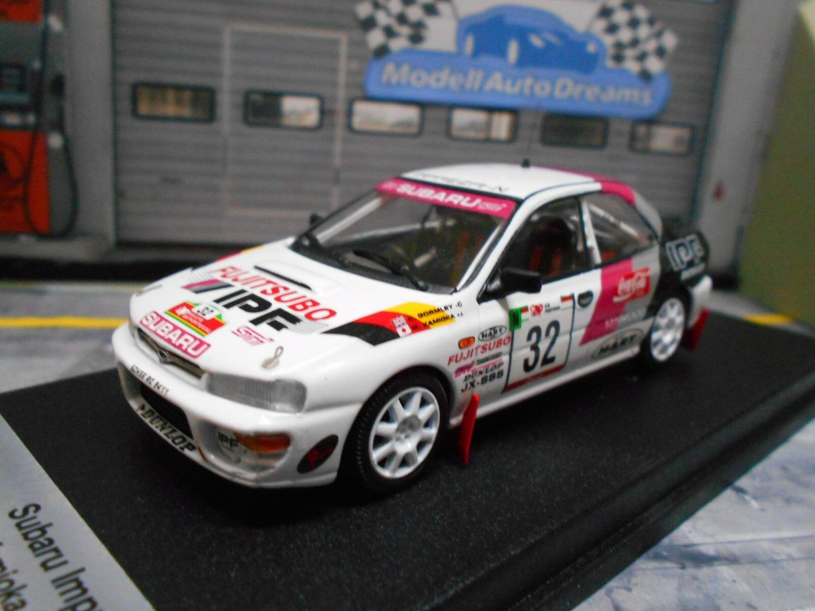 servicio considerado Subaru Impreza Impreza Impreza WRC Rally Portugal 1995 Kamioka  32 ipf Limited Trofeu 1 43  Garantía 100% de ajuste
