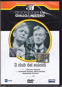 Dvd-Sceneggiati-Rai-IL-CLUB-DEI-SUICIDI-di-G-Vaccari-con-L-Cortese-nuovo-1957