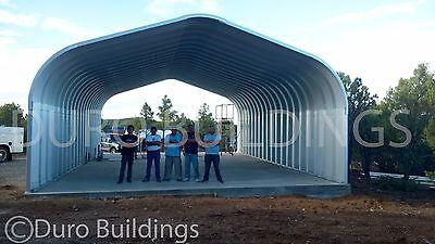 DuroSPAN Steel 16x16x12 Metal Building DIY Carport Kit ...