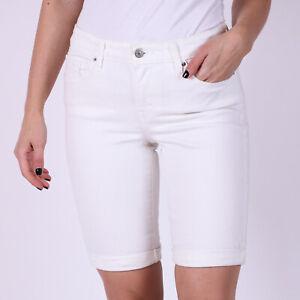Levi-039-s-Weiss-Damen-Bermuda-Shorts-Groesse-34-US-W27