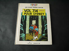 HERGE TINTIN VOL 714 POUR SYDNEY ALBUM ANIME POP-HOP 1971