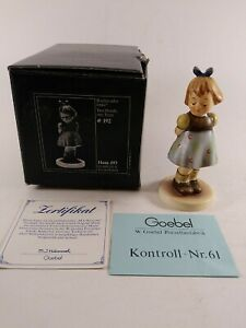 Goebel-M-I-Hummel-493-034-TWO-HANDS-ONE-TREAT-034-TMK-7-MINT-IN-BOX-W-C-O-A