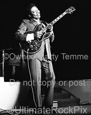 BB KING PHOTO Black and White Concert Photo in the 1970s by Marty Temme