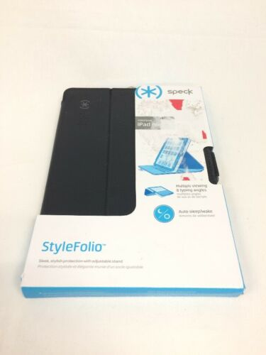 Speck Products StyleFolio Case and Stand for iPad mini 4 Black//Slate Grey