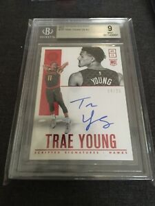 Trae-Young-14-25-2018-19-Panini-Encased-Scripted-Signatures-RC-Red