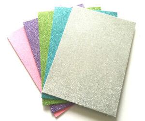 Glitter Foam Sheets A5-10 in a Pack Art Craft Good Quality