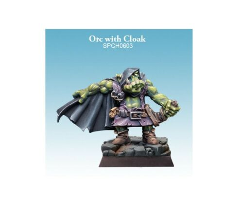 Spellcrow Orc with Cloak