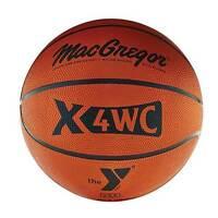 Macgregor Junior Size (27.5) Basketball W/ Ymca Logo on sale