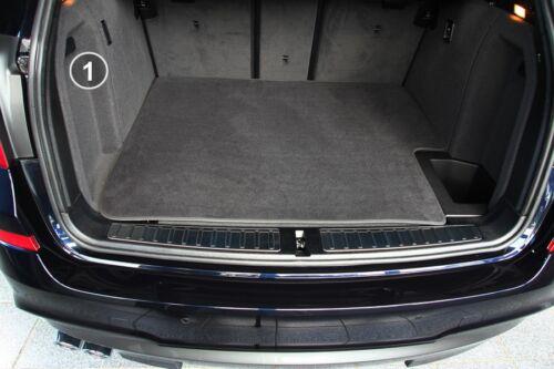 3-teilige Kofferraummatte mit Ladekantenschutz für BMW X3 X4 F25 F26 xDrive