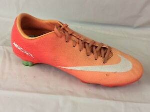 promo code 27cf0 e9458 Image is loading NIKE-MERCURIAL-VELOCE-GS-Womens-7-Med-Pink-