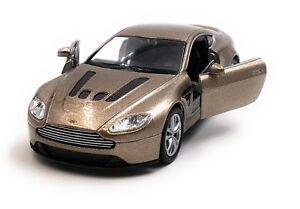 Model-Car-Aston-Martin-V12-Vantage-Sports-Car-Golden-Car-1-3-4-39-Licensed