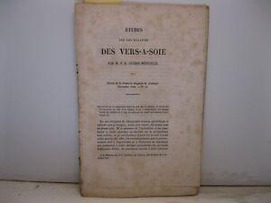 GUERIN-MENEVIL<wbr/>LE F.E., Etudes sur la maladies des vers-a-soie