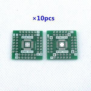 f00b3b0ddb31 10pcs QFN44 QFP44 to DIP Adapter LQFP48 QFN48 experiment board 0.5MM ...