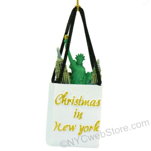 New York Shopping Bag Ornament ZZ-OR019
