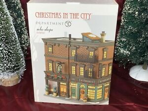 Department-56-Soho-Shops-4030347-Christmas-In-The-City-Village-Series-Retired